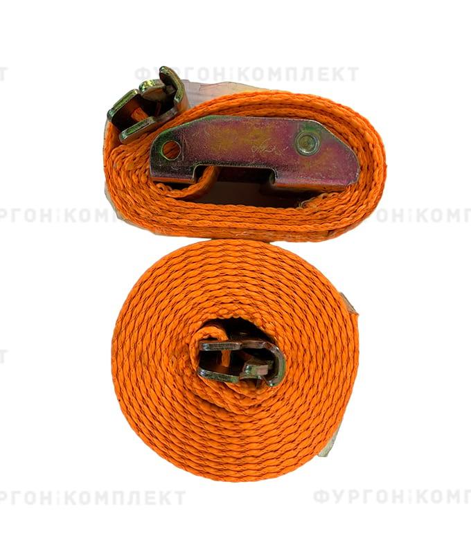 Стяжной ремень скреплением «Ласточкин хвост» без механизма (ширина 50мм, до 4т)