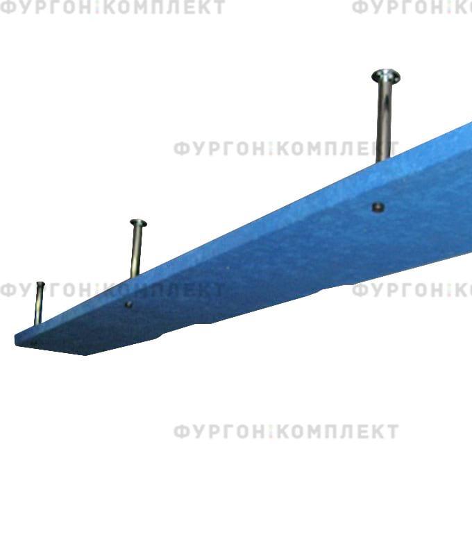 Багажные полки на хромированной трубе (2 штуки, Россия)