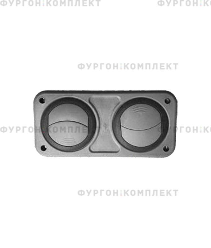 Дефлектор для обдува салона (двойной)