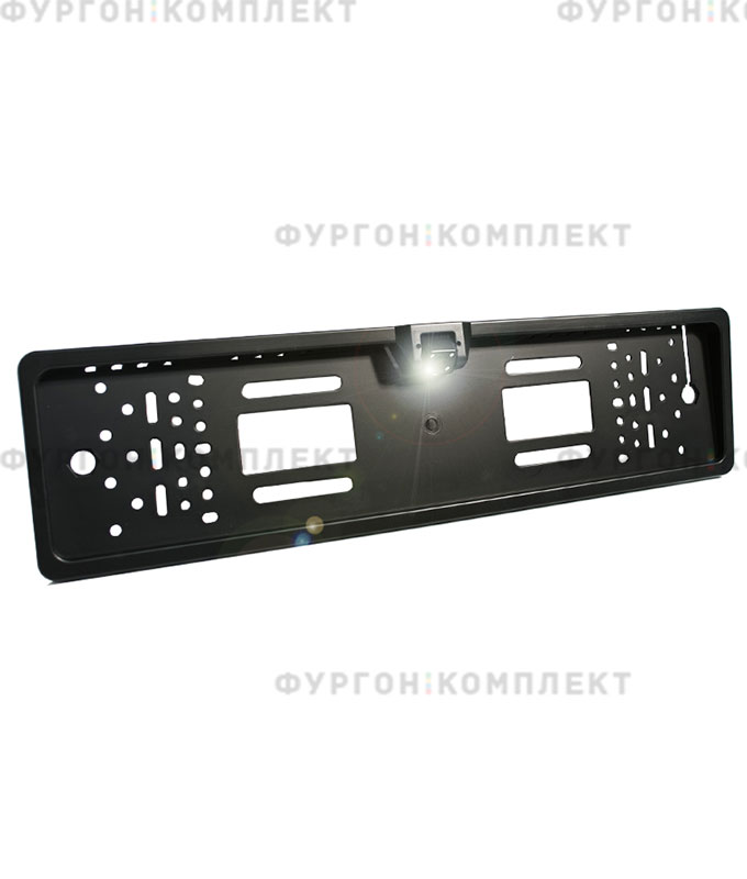 Камера заднего вида врамке номерного знака AVS388CPR (обзор 170°, 648х488 px)