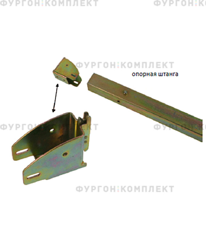 Карман для планки крепления груза (из оцинкованной стали)