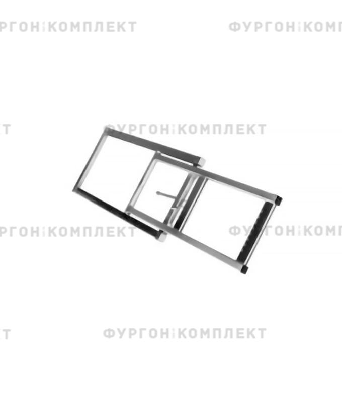 Лестница двухступенчатая (из оцинкованной стали)