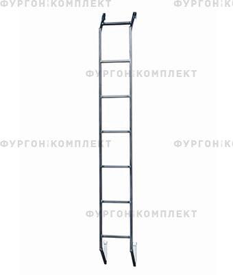 Лестница стационарная надверь фургона (высотой до 3,2 м)