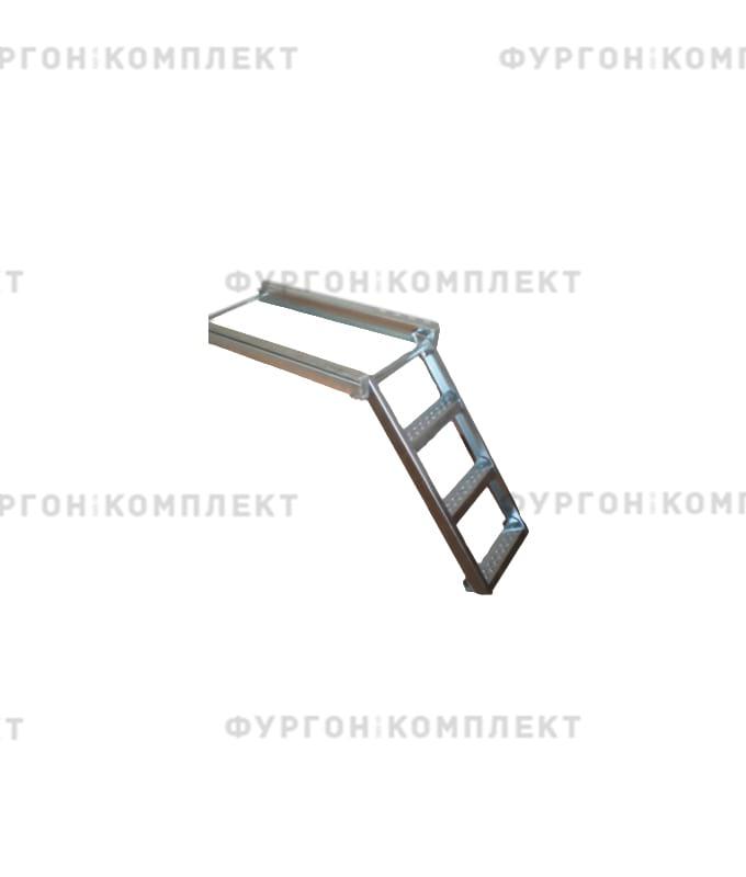 Лестница трёхступенчатая (из оцинкованной стали)