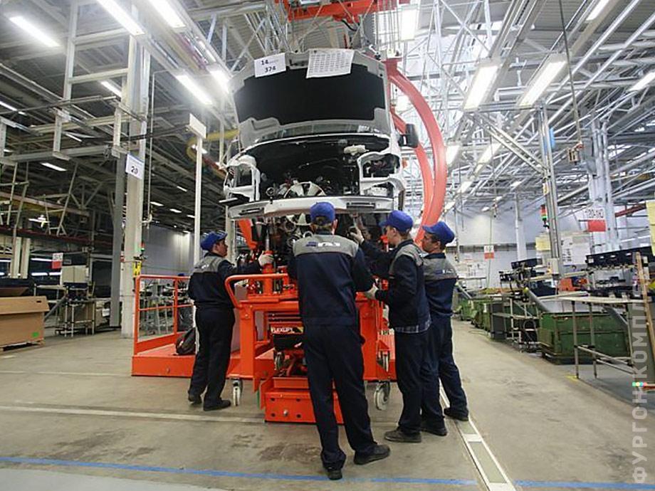 Производство Mercedes-Benz Sprinter Classic в Нижнем Новгороде