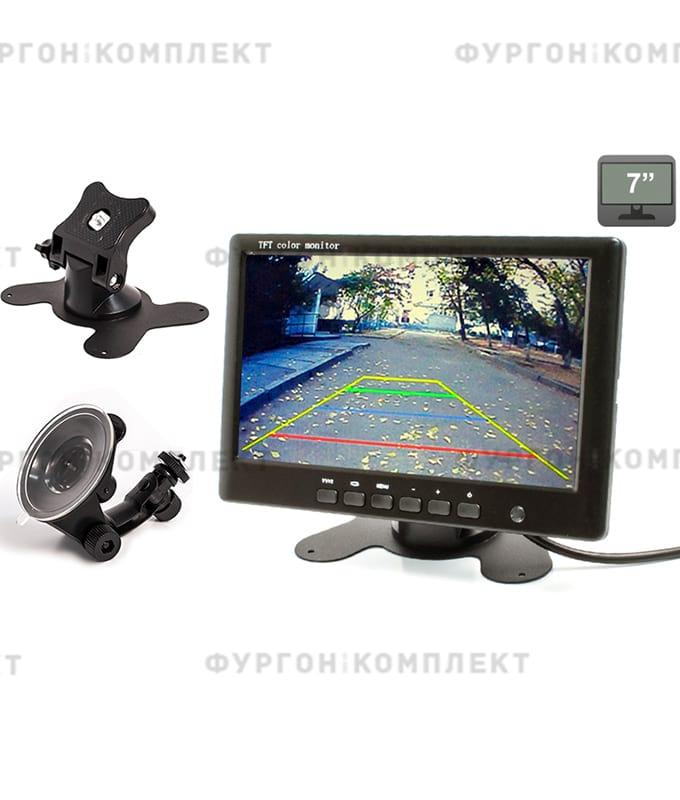 Монитор на приборную панель AVS0704BM (7 дюймов, 800х480 px)