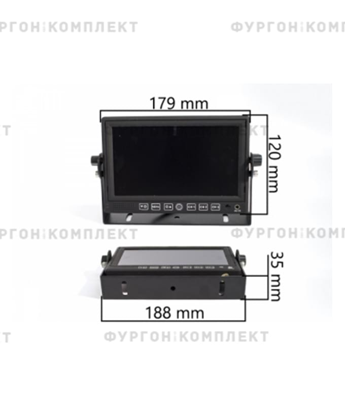 AVS4714BM (Regular) + AVS660CPR + AVS20CC (комплект для парковки)