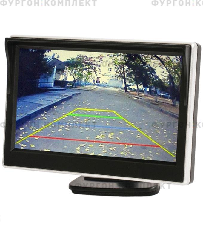 Монитор наприборную панель AVS0500BM (5 дюймов, 800х480 px)