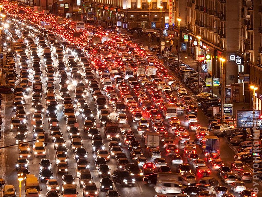 Пробка в Москве