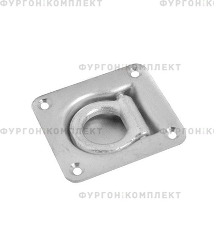 Кольцо утапливаемое квадратное (на пружине)