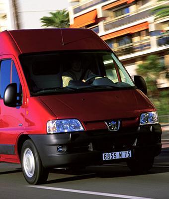 Стеллажи для Peugeot Boxer244 (2002 - 2006 гг)