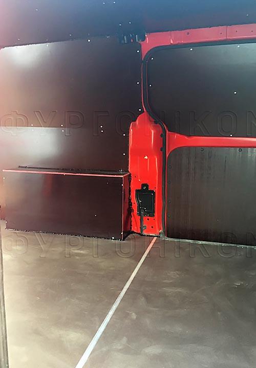 Обшивка фургона Hyundai Starex (H-1) L1H1: Пол, стены, арки и потолок
