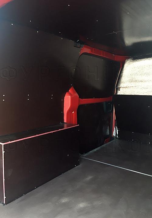 Обшивка фургона Hyundai Starex (H-1) L1H1: Пол, стены, арки, потолок и перегородка