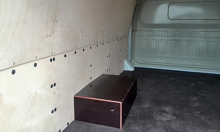 Обшивка фургона ГАЗ 2752 Соболь L1H1: Пол, стены и арки