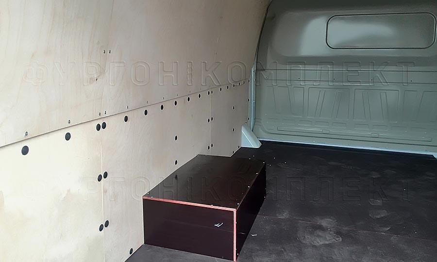 Обшивка фургона ГАЗ 2705 Газель L2H1: Пол, стены и арки
