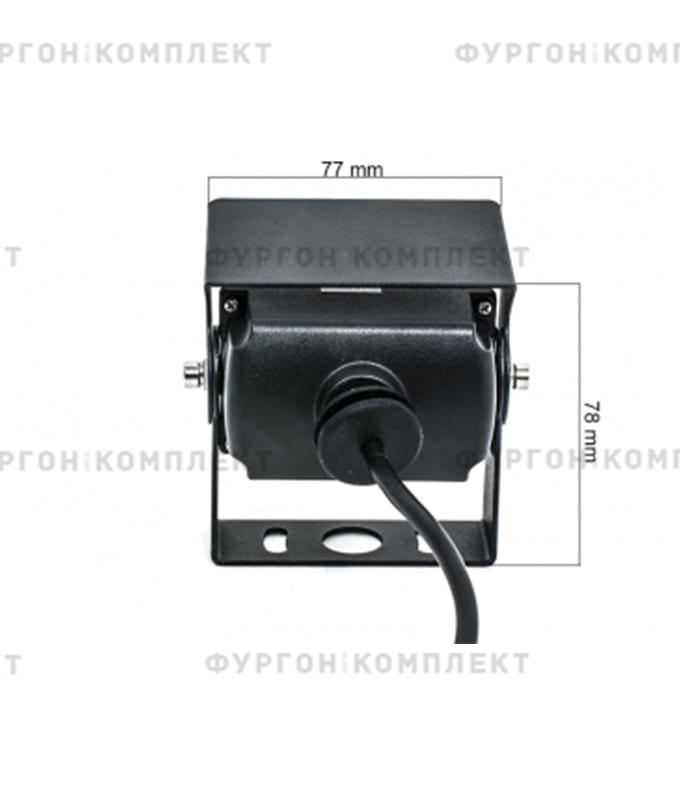 Камера заднего вида AVS407CPR (AHD) (обзор 140°, 1305х977 px)