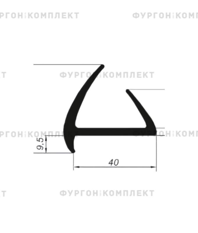 Уплотнитель резиновый (размер 40 мм)