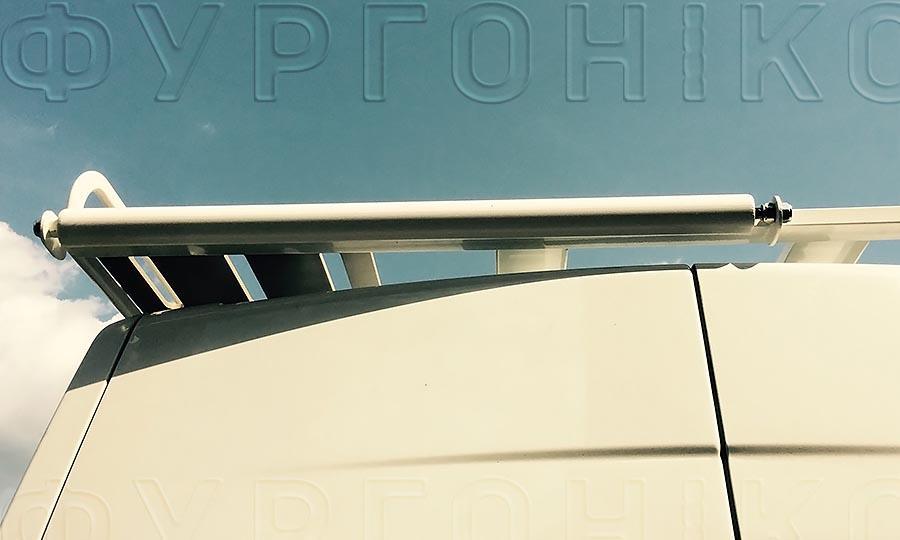 Багажники из окрашенной стали L3H2 (усиленный): Ролик на багажник для фургона