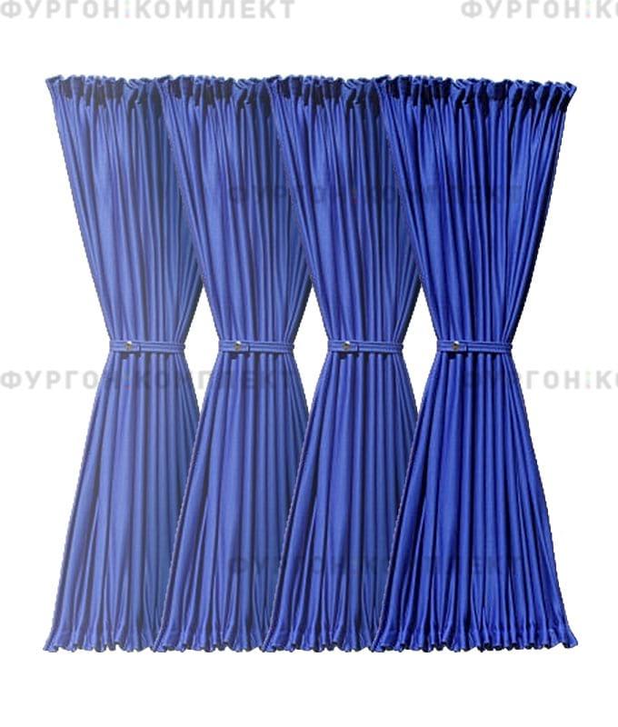 Комплект шторок синий