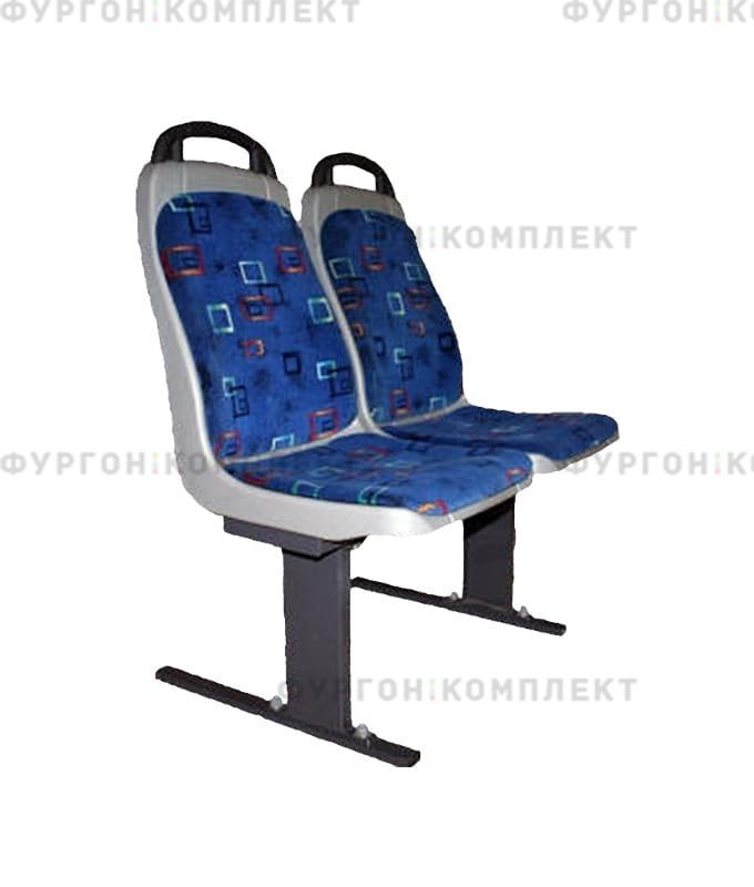 Двойное антивандальное сиденье