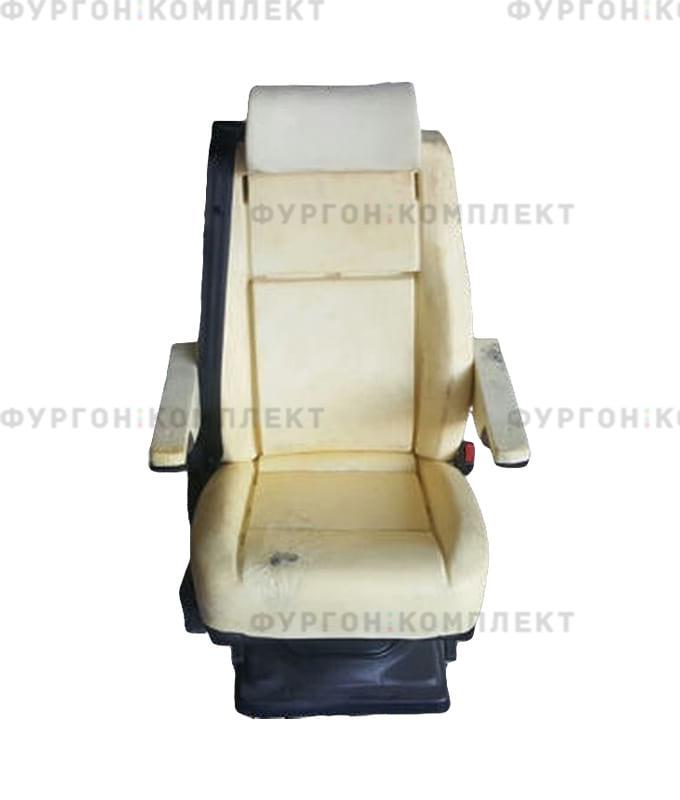 Одинарное откидное сиденье без обивки