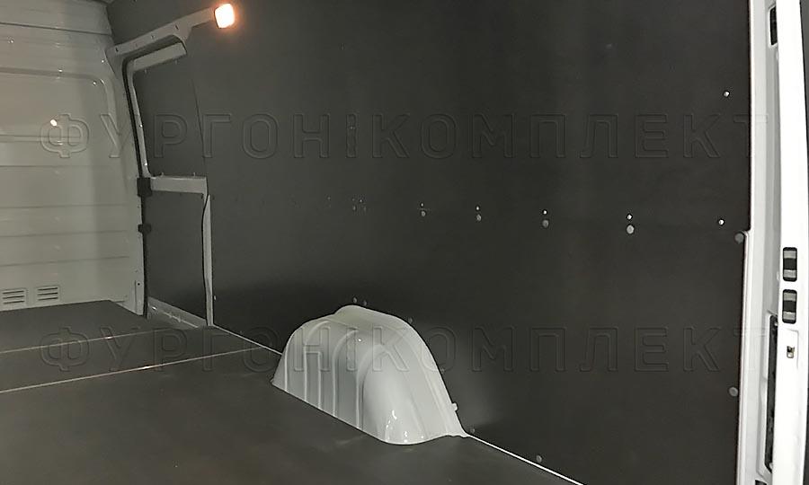 Обшивка фургона Mercedes-Benz Sprinter Classic L3H2: Стены и пол