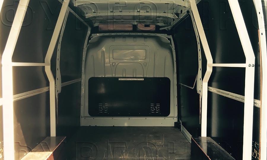 Багажники из окрашенной стали L3H2 (усиленный): Стойки для багажника