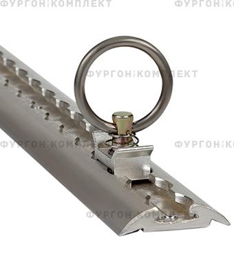 Алюминиевая рейка ТРА-1 с кольцами (длина 2,95 метра)