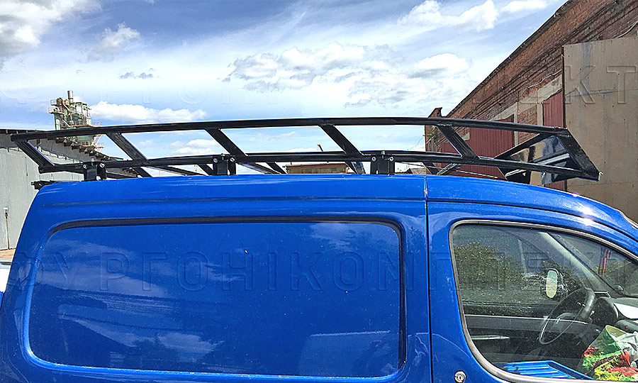 Багажники из окрашенной стали L1H1: Вид сбоку