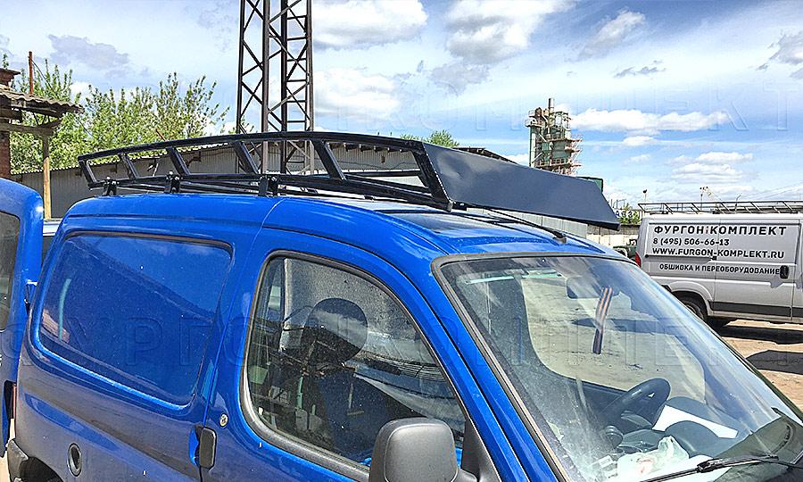 Багажники из окрашенной стали L1H1: Вид сверху