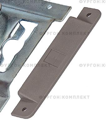 Заглушка для стальной рейки ТРС130-2 (пластик)