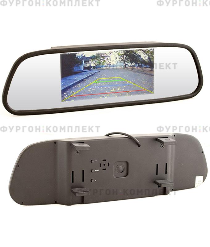 Зеркало смонитором AVS0501BM (5 дюймов, 800х480 px)