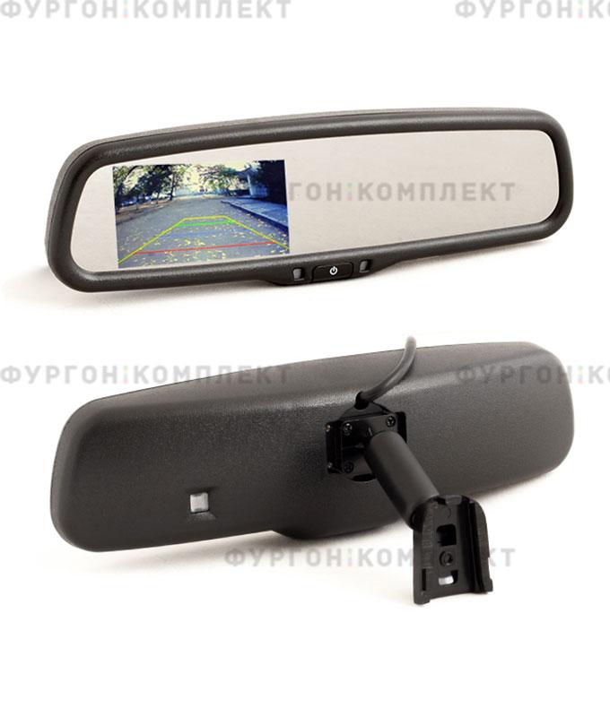 Зеркало смонитором AVS0489BM (4,3 дюйма, 480x272 px)