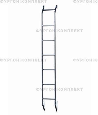Лестница из нержавеющей стали высотой до 2,2 м