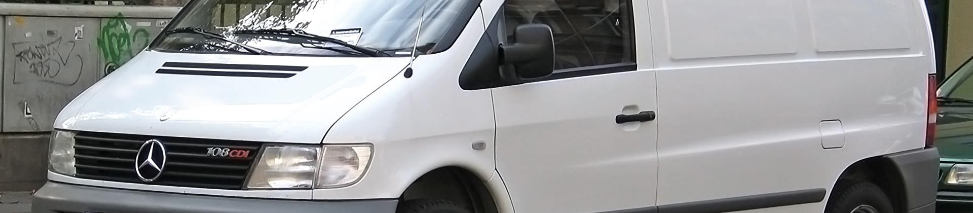Mercedes-Benz Vito W638 — обшивка фургона