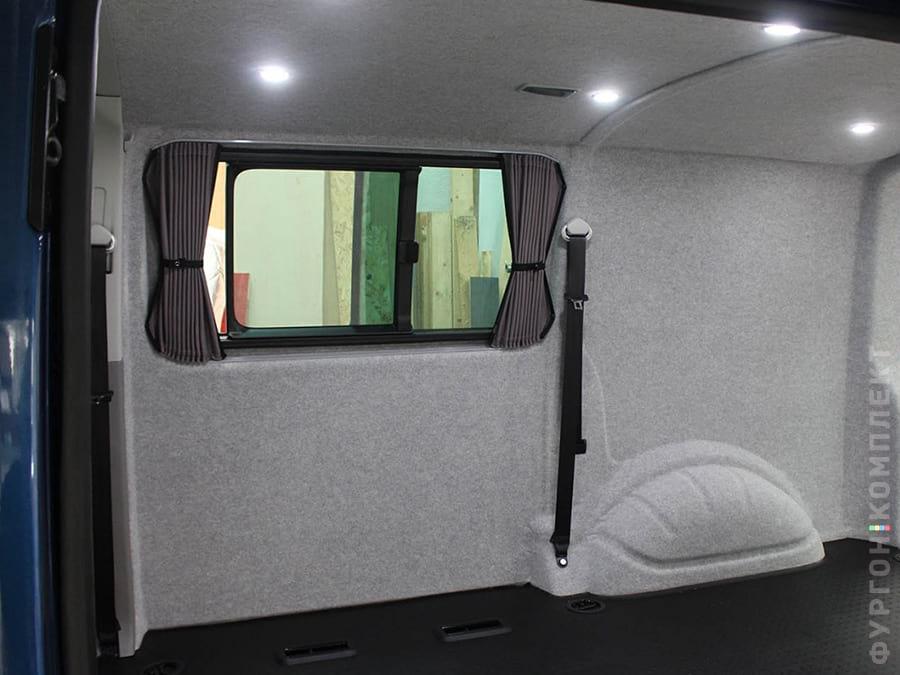 Обивка салона фургона