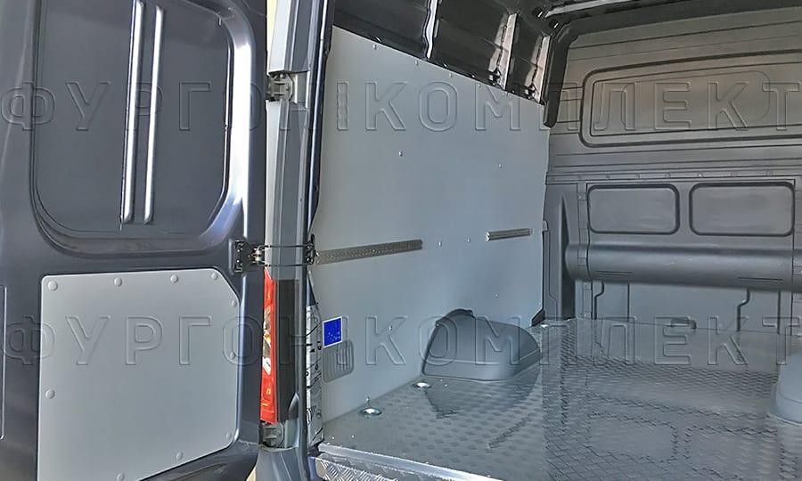 Обшить грузопассажирский фургон Газель Некст алюминием