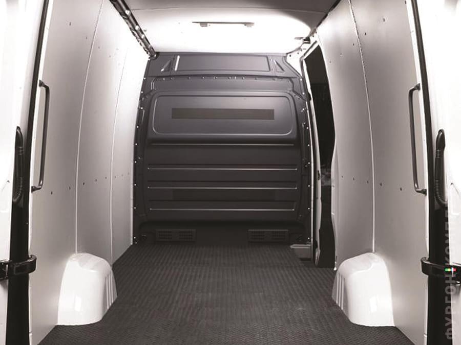 Обшивка фургона пластиком