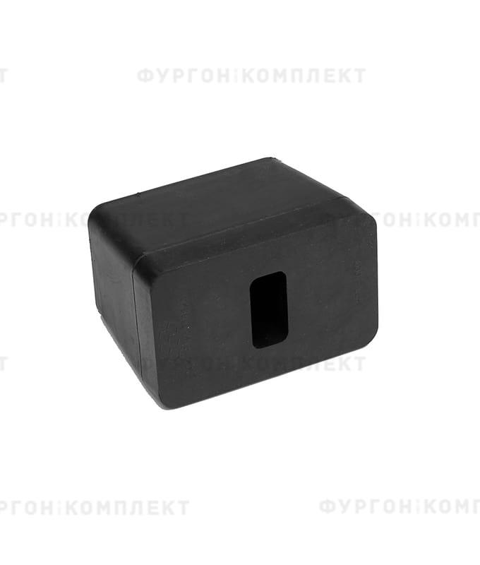 Отбойник прямоугольный → 120×75×90мм, 1.02кг (øотверстий: 11мм)