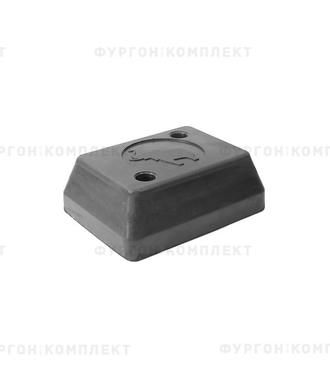Отбойник прямоугольный → 165×125×60 мм, 1.72кг (øотверстий: 10мм)