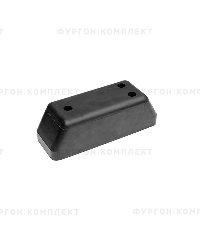 Отбойник прямоугольный → 275×100×90 мм, 2.8кг (øотверстий: 13мм)