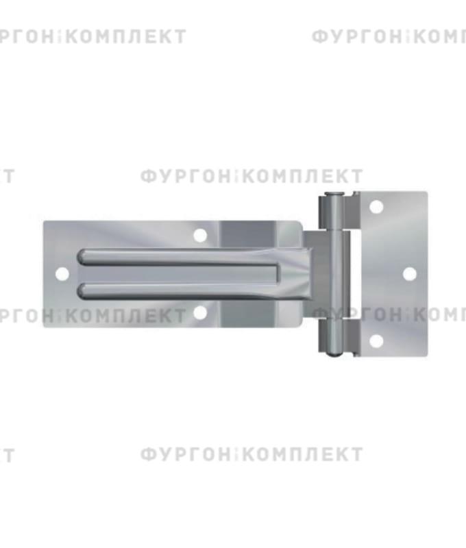 Прямая петля боковой двери (длина 185 мм, нержавеющая сталь)