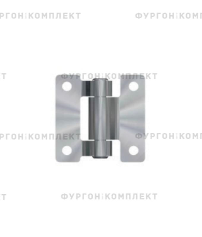 Петля для люков и ящиков (60 x 60 мм, оцинкованная сталь)