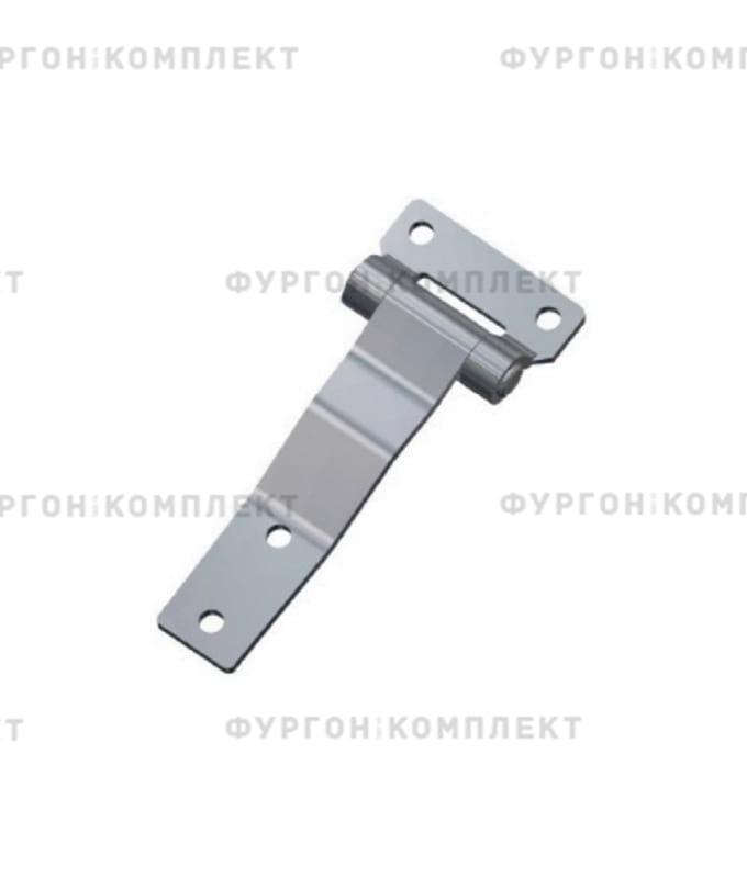 Петля для люков и ящиков (длина 114 мм, оцинкованная сталь)