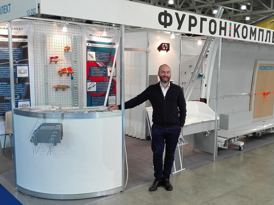 Технический директор компании Фургон-Комплект