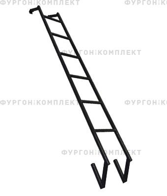 Лестница из окрашенной стали высотой до 2,2 м