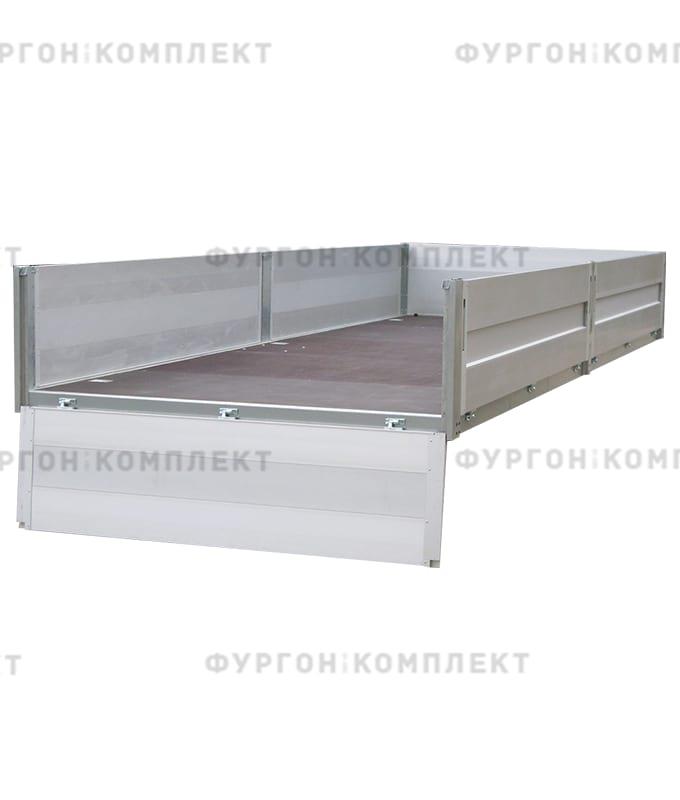 Стойка бортовая алюминиевая с замком (длина 400 мм)
