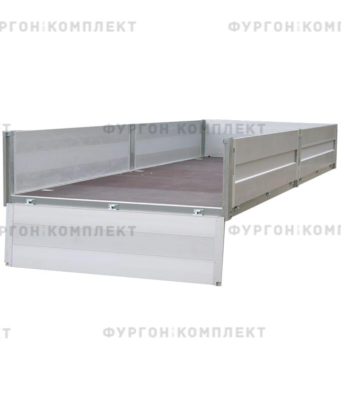 Стойка бортовая алюминиевая с замком (длина 600 мм)