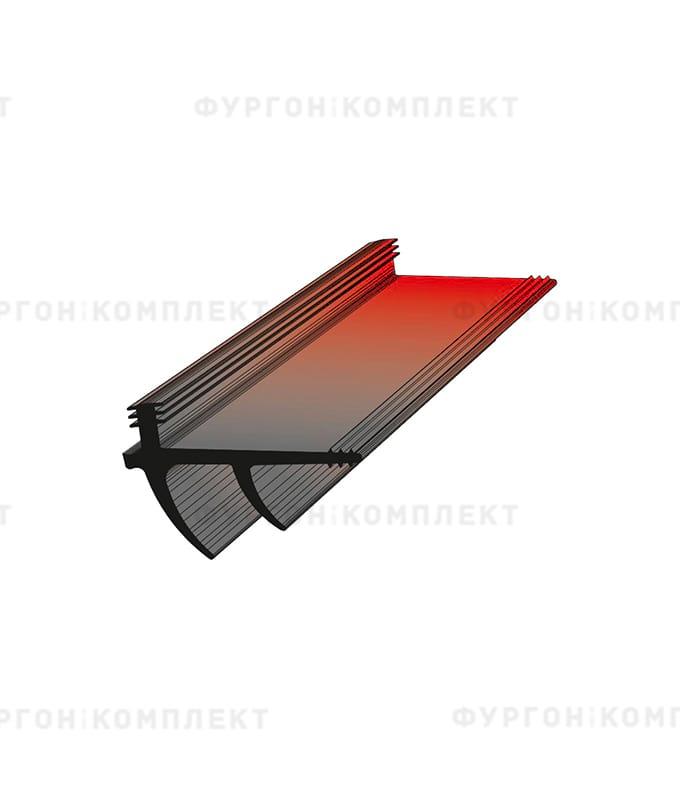 Уплотнитель резиновый для дверей рефрижератора → 66×42мм