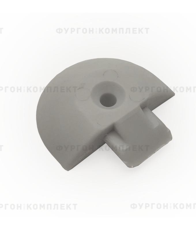 Заглушка для алюминиевой рейки ТРА-1